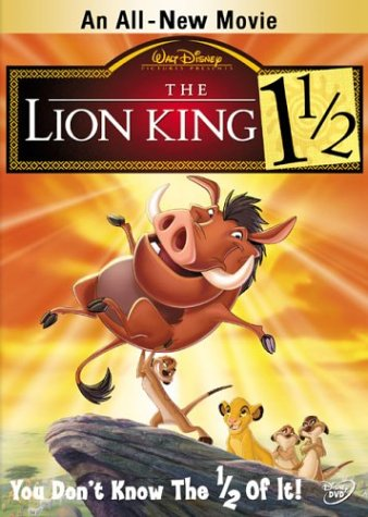 Король-лев 3: Хакуна Матата (2004) / The Lion King 1Ѕ